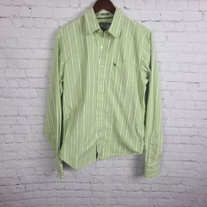 Abercrombie and Fitch. Muscle Striped dress shirt